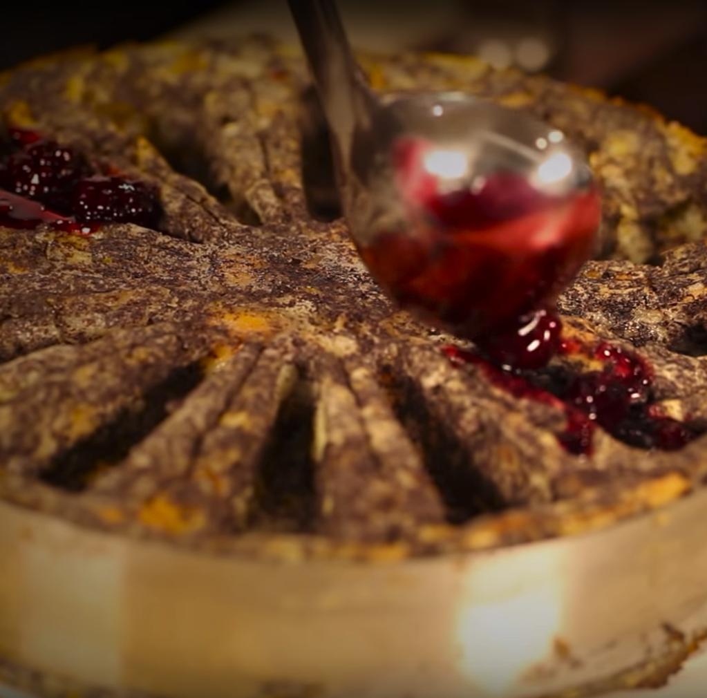 Mákos guba Zila tortaformában
