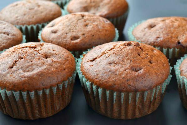 Gesztenyés-csokis muffin