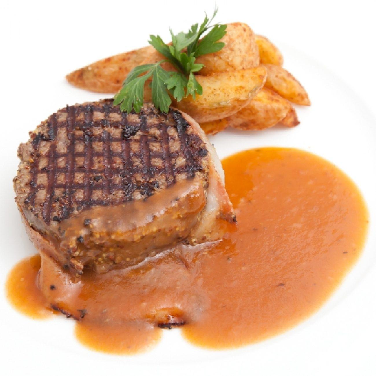 Bélszín, steak pácolás, előkészítés