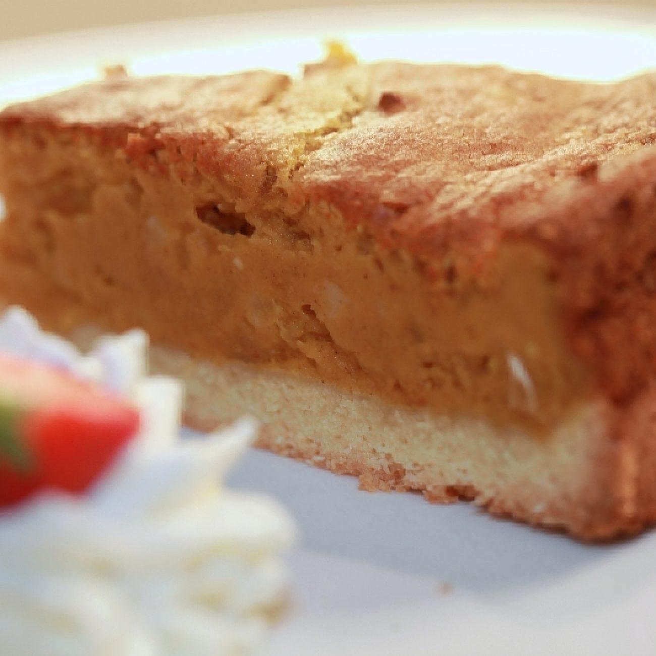 Mogyorós sütőtök torta