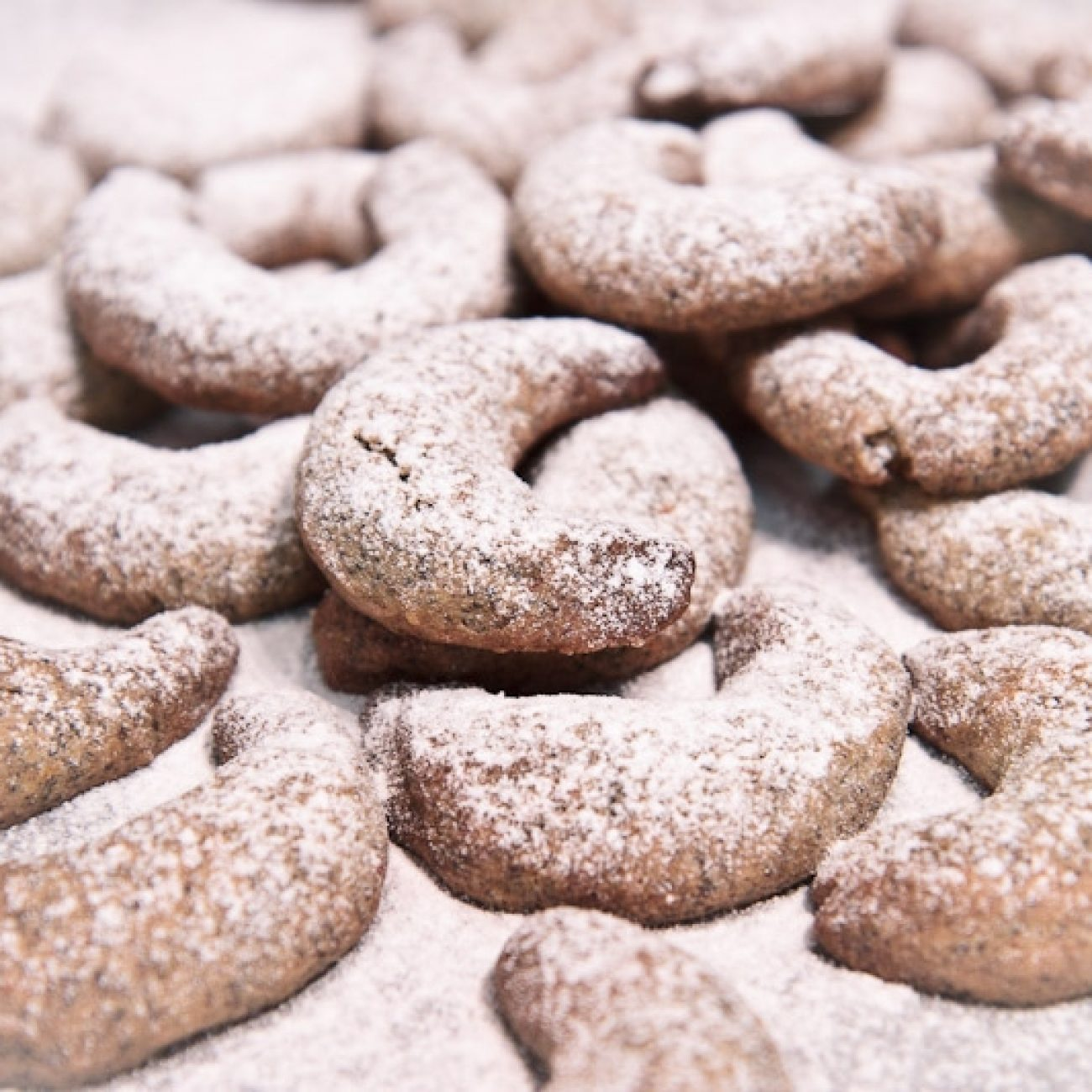 Mákos vaníliás kifli