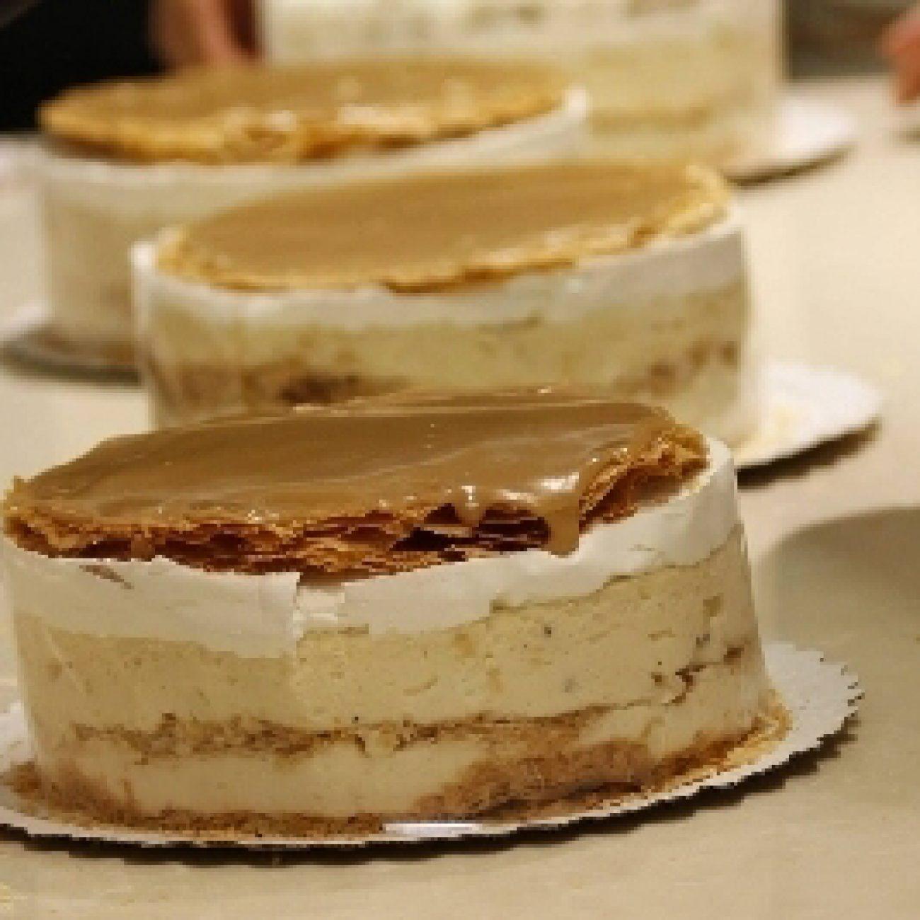 Franciakrémes-torta
