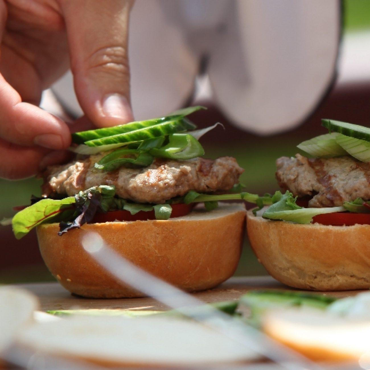 Hamburger sütés