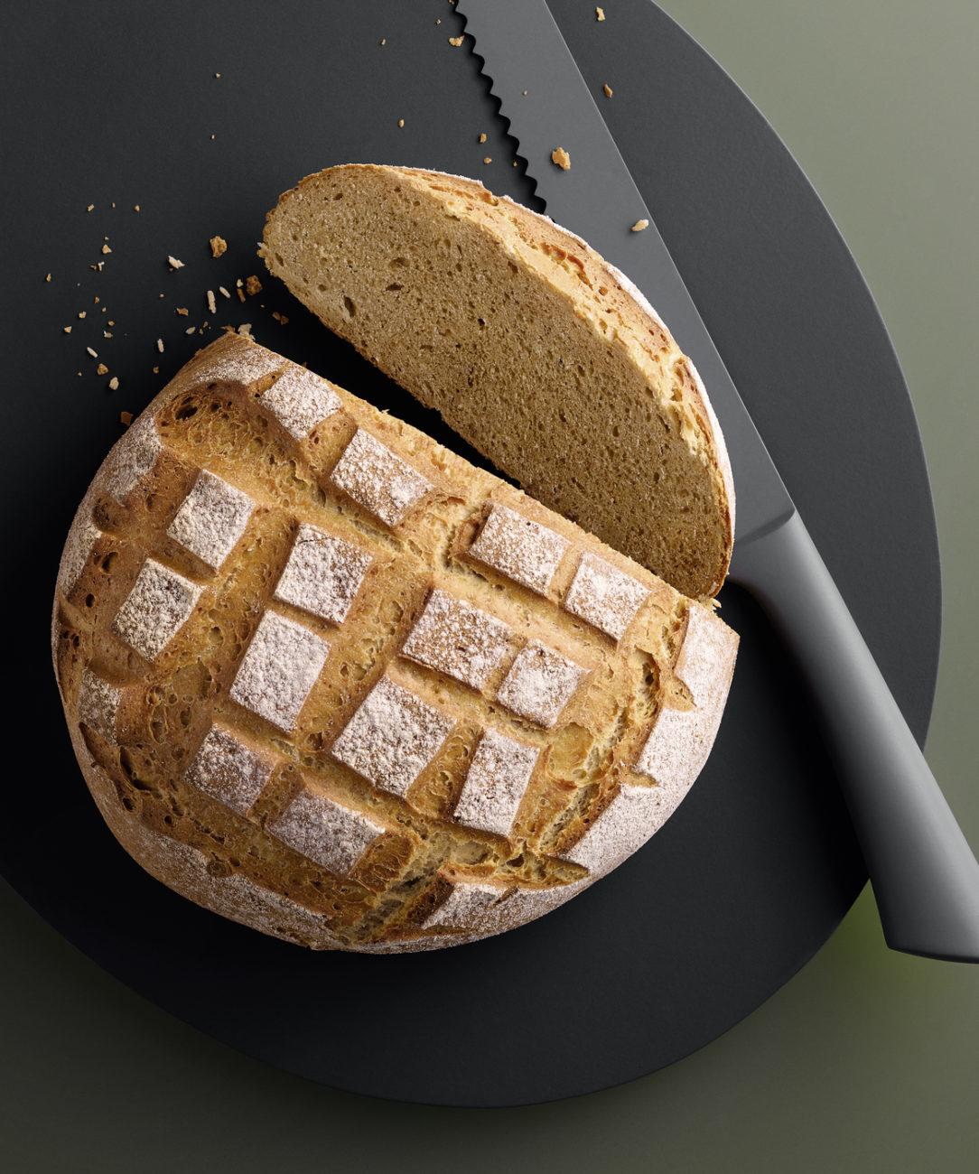 Kovászolt új kenyér